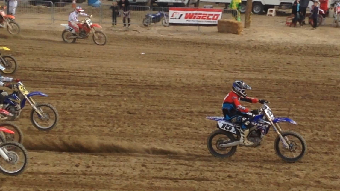 Doug Dubach riding MotoX using R1Dean Throttle Body Genius